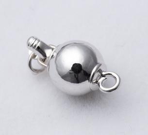 Бесплатная доставка Оптовая жемчужные аксессуары Qian hui полноценный сферические жемчужное ожерелье браслет застежка k009