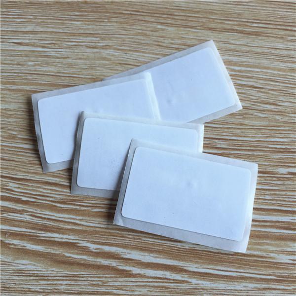 Pegatina NFC 38x26mm Rectángulo 13.56MHz Etiqueta RFID 1k ISO14443A MIFARE Classic® 1K Control de acceso -10pcs