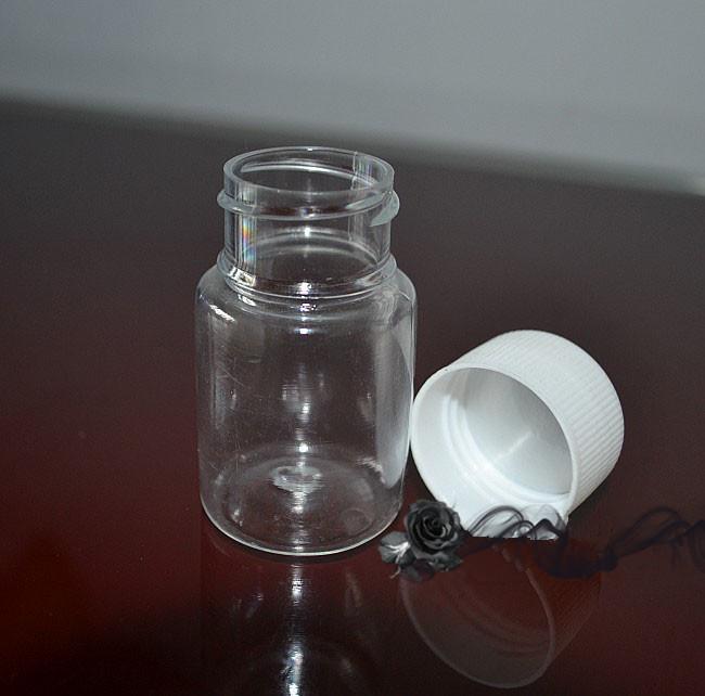 Plastik 20g Pet Hap Kapsül Konteyner Şişe Boş Tıp Sıvı Ambalaj Şişeleri ÜCRETSIZ KARGO