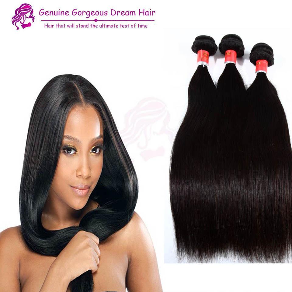 100% non trasformati capelli umani peruviani del tessuto 3 pacchi economici capelli umani tesse estensioni peruviane diritte dei capelli umani brasiliane intreccia