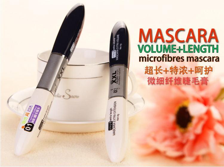 Volume express m.n Maquillage silicone brosse mascara colossales allongement friser cosmétiques imperméables yeux noirs cils Extension
