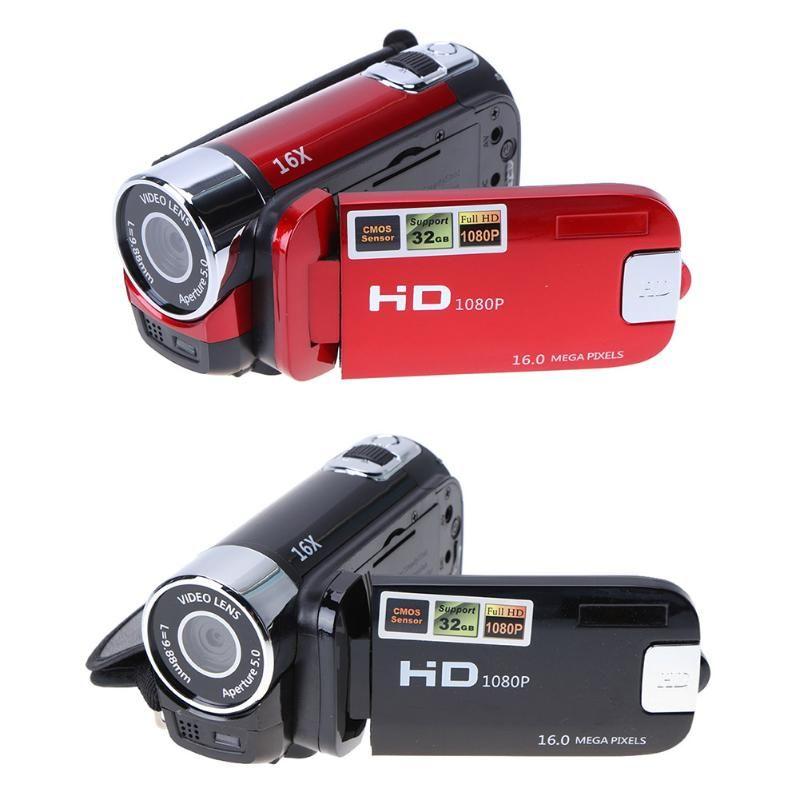 "ALLOYSEED Cámara de video digital 22MP Full HD 1080P 32GB 16x Zoom Mini videocámara DV Camera WiFi 3.0 ""Pantalla táctil portátil"