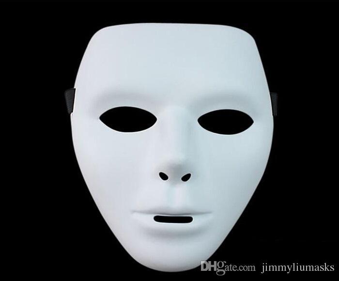 Top Quality New Horror Das Mulheres Dos Homens do Dia Das Bruxas Máscara Facial Ghost Dance Passo HIP-HOP Jabbawockeez Máscara