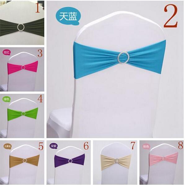2015 Sillas Arcos 14 Colores Nueva Venta Caliente Fiesta Arco Silla Sash para Sillas Envío Gratis Para Boda Vestidos de Fiesta Decoración de Silla