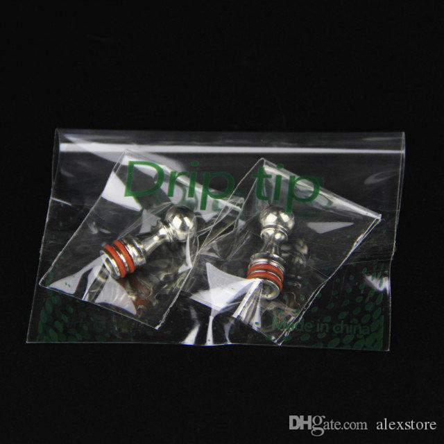 100Pcs Five Pawns 510 Drip Tips Bocchino in acciaio inox misura 5 Pedine RDA Atomizzatore RBA Kayfun Lite Plus Edition Kayfun 4 Accessori DHL