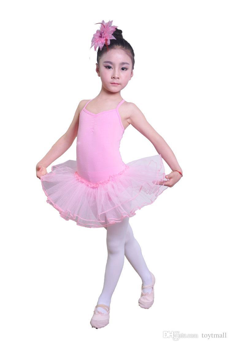 Compre Los Niños De Los Niños Vestidos De Ballet Desfile Tutus Correa De Espagueti Niñas Baile Vestido De Fiesta Ballet Tutú Para Niños De Color