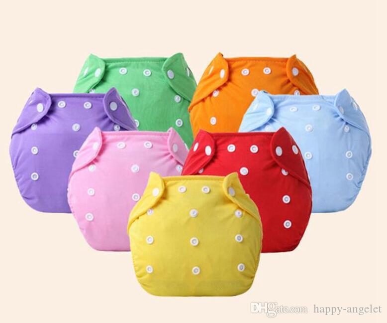40pcs Baby Cotton water proof Soft Diaper Nappies Cover Reusable Washable Size Adjustable spring summer autumn winter button Diapers YTNK001
