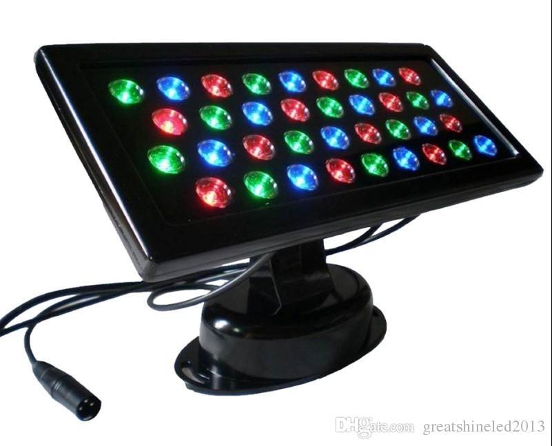 AC85V / 265V 36W ingebouwde DMX-decoder RGB vierkante vorm LED-muur washer IP65 waterdicht gebruikt voor hotel decoratie verlichting