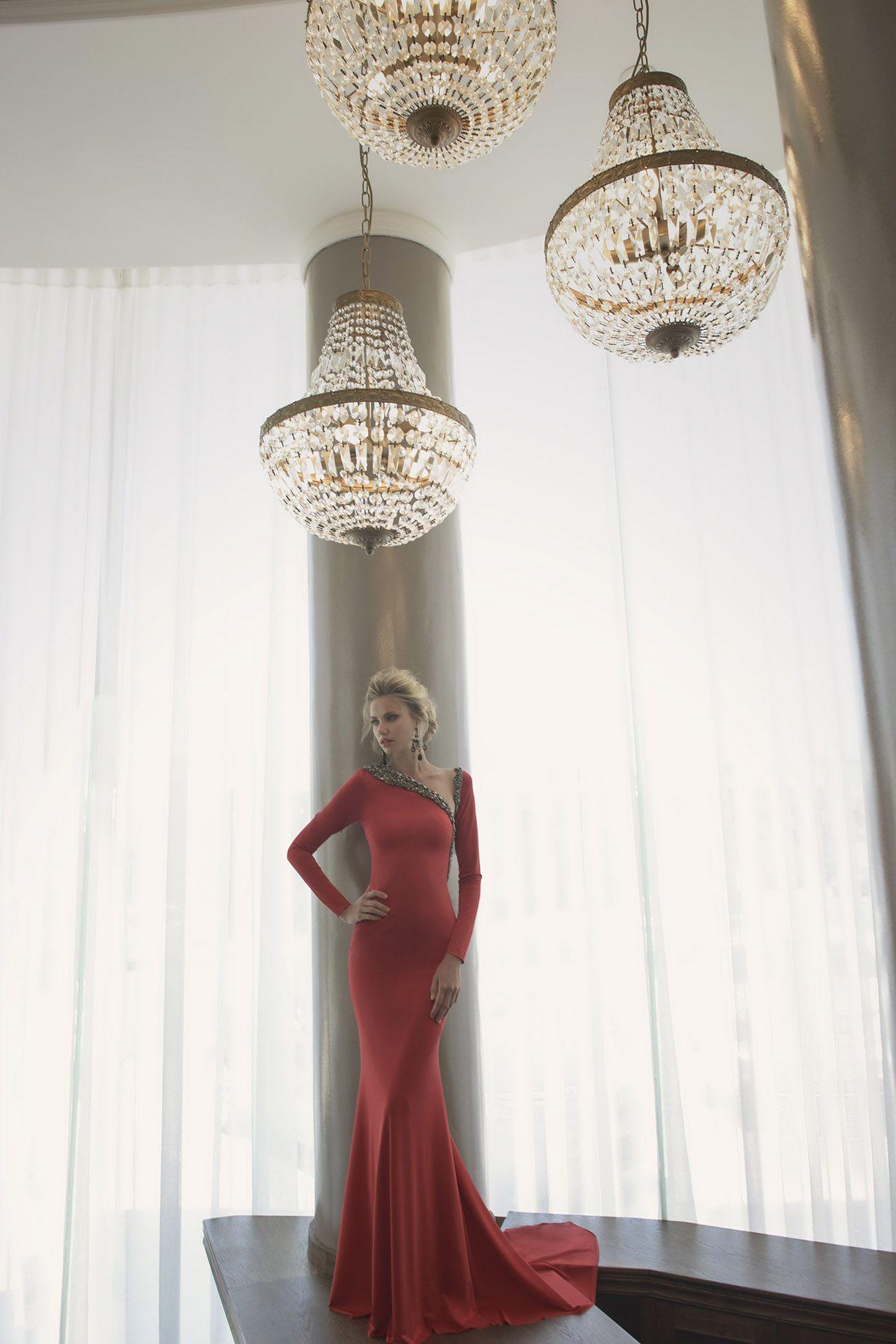 Oved Cohen Evening Dresses Fall Winter Designer Mermaid Womens Long ...