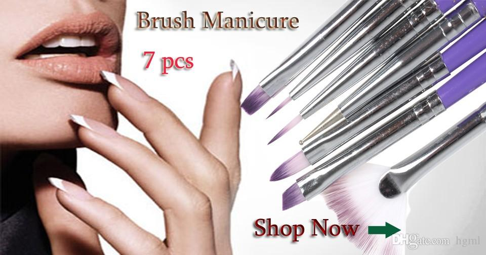Of Purple Nail Art Design Brush Pen For Painting Dotting Acrylic