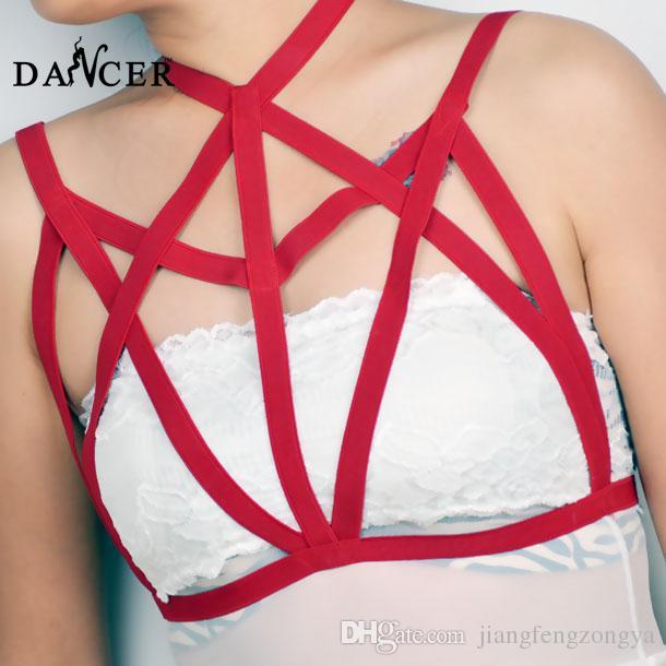 Kız seksi giyim iç çamaşırı sütyen sutyen demeti 2015 Jartiyer o0033 Gotik Sutyen Siyah elastik ayarlanabilir moda trendterter kız 90 çelik ...