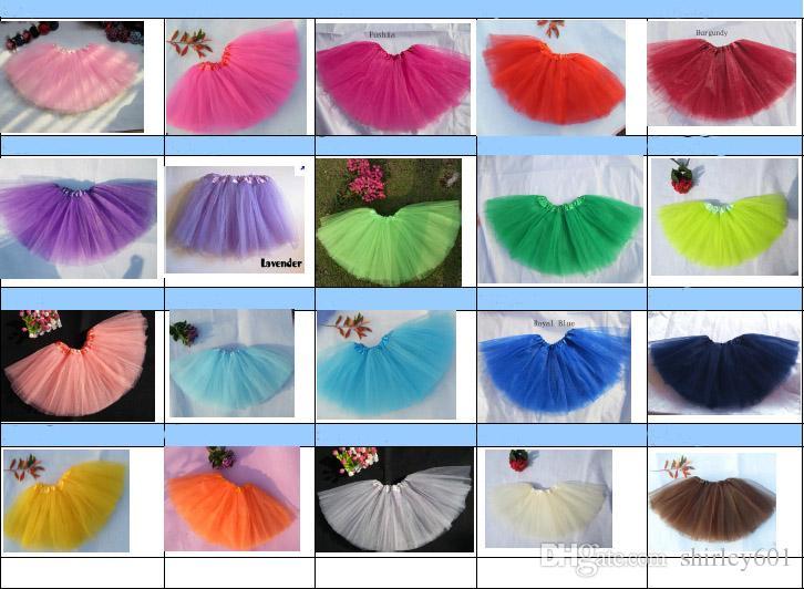 Hotsell Cheaper Tutu Baby Girls Tutu Skirt Fluffly Tulle Tutus Dance Tutu Party Tutus Children Birthday Clothing Gift