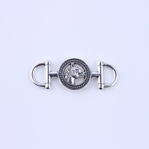 2015 New fashion Silver Charms Retro Horse Head Pendants Manufacture DIY Jewelry Fit Necklace or Bracelets 50pcs/lot 5193x