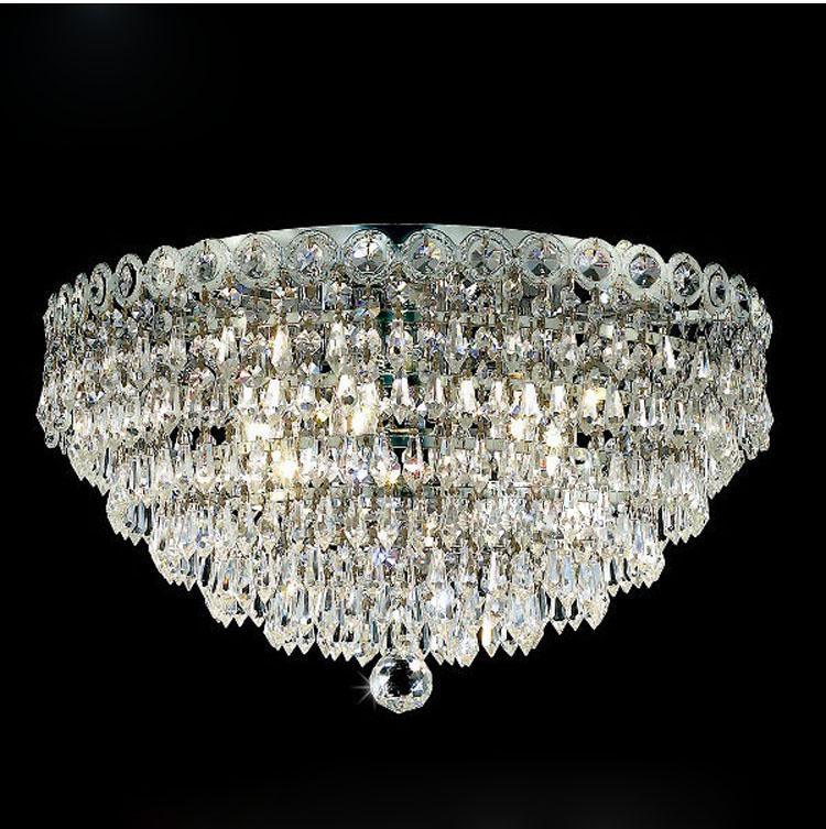 Criativo Moderno K9 Cristal Moderna Claro K9 Cristal de Luz de Teto Sala de estar Bar Hotel Luminária de Cristal