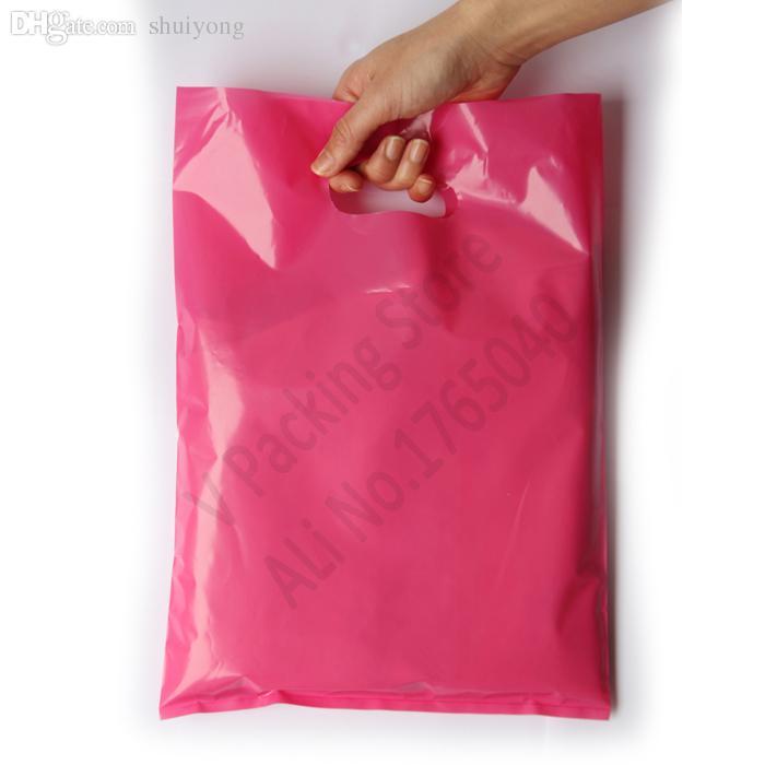 도매 -30 * 40cm 사용자 정의 인쇄 비닐 봉지 선물 가방 쇼핑 가방 캐리어 로고 디자인 된 PE 봉투 도매업