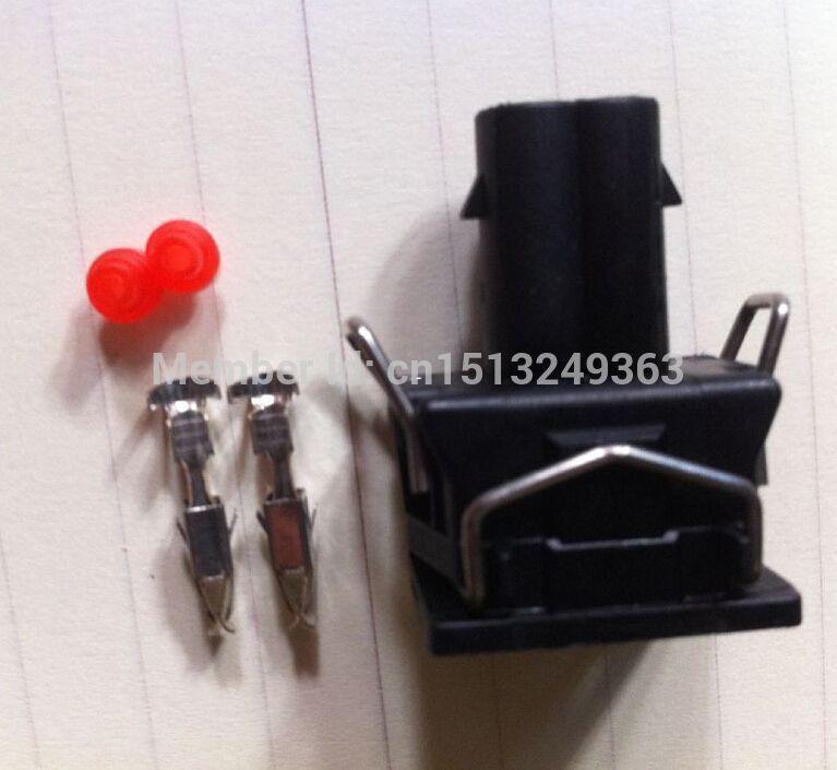 100pcs/lot Injector Connector / Plug EV1 DJ7023-3.5-21