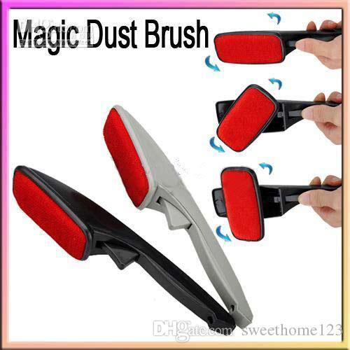 Дешевые 5 шт. / лот электростатический магия ворс пыли щетка, одежда Одежда химчистка, животное для удаления волос, костюм / ковер / листы очистки
