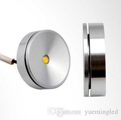 Lumière chaude blanche froide de rondelle de la vente chaude 3W LED, lampe de puck menée, lumière menée AC85-265V de meubles