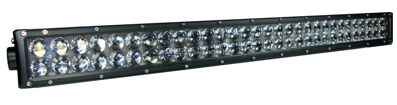 Curvo 288W 50 '' LED 96X3W pollici Light Bar luminosa 12V 24V per camion dell'automobile 4x4 ATV Offroad Driving SUV della nebbia della lampada