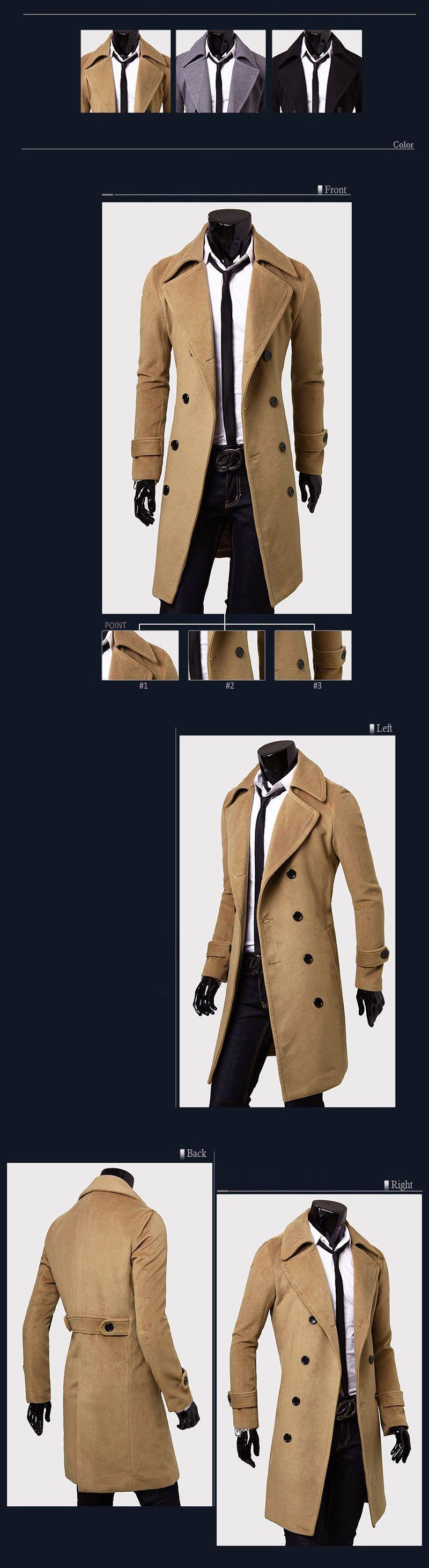 Lange Wollmantel Auf Männer Männer Großhandel Neue Trenchcoat Winter Von 51 Marke wholesale33 Erbsenmantel Mens Zweireiher Gift 2016 Umlegekragen 8ONv0wmn