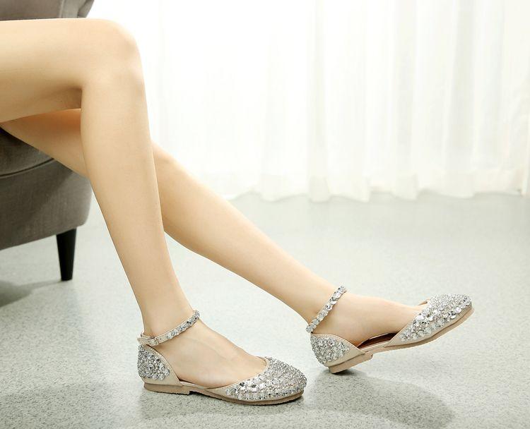 Hot, 2016 Luxury Fashion Rhinestone Pearl Crystal Shoes Custom ...