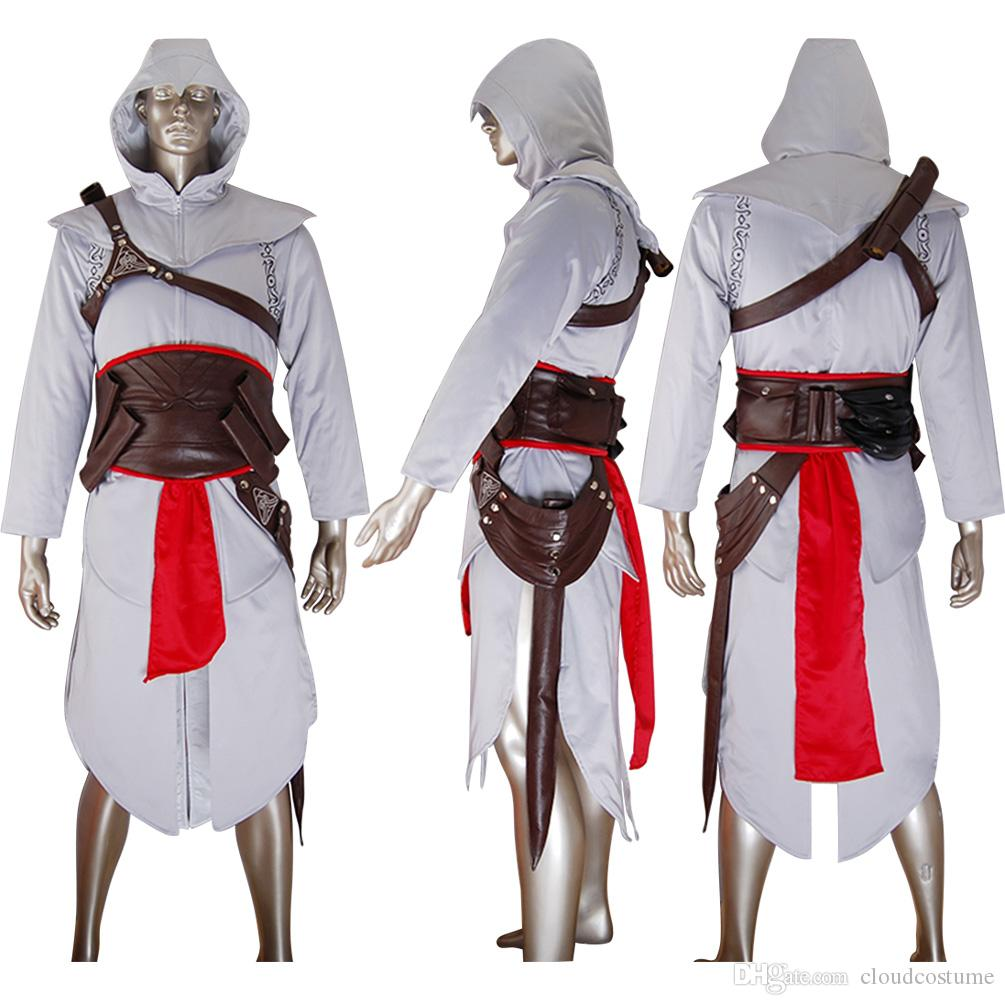 Hot Sale Assassins Creed Altair Cosplay Costume Essential Edition