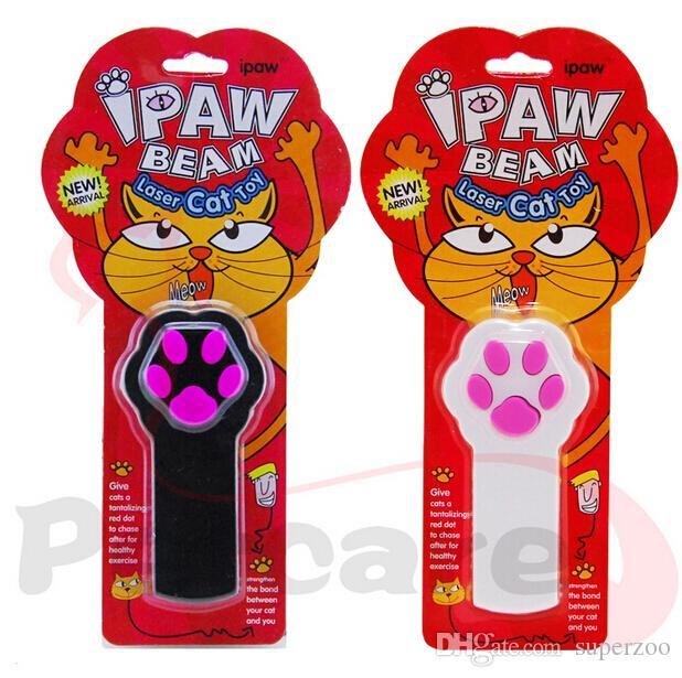 Второе поколение обновление лазерный IPAW луч кошка игрушка собака игрушка лазерная указка кошка обучение игрушки Лазерная кошка палку смешно