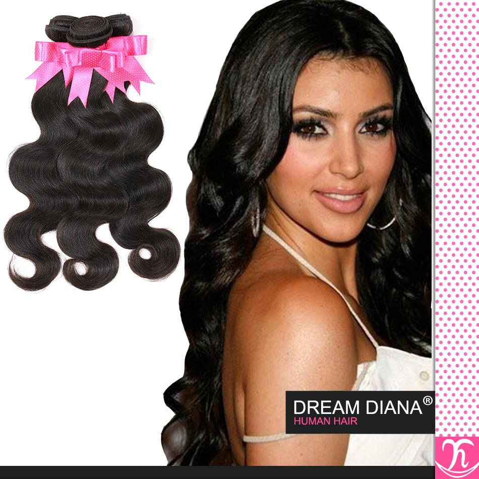 Top Hair Quality Brazilian Body Wave Virgin Hair Eayon Hair Brazilian Hair Weaving 1b Body Wave Weave Tissage Bresilienne Lots 4 Cheap Hair