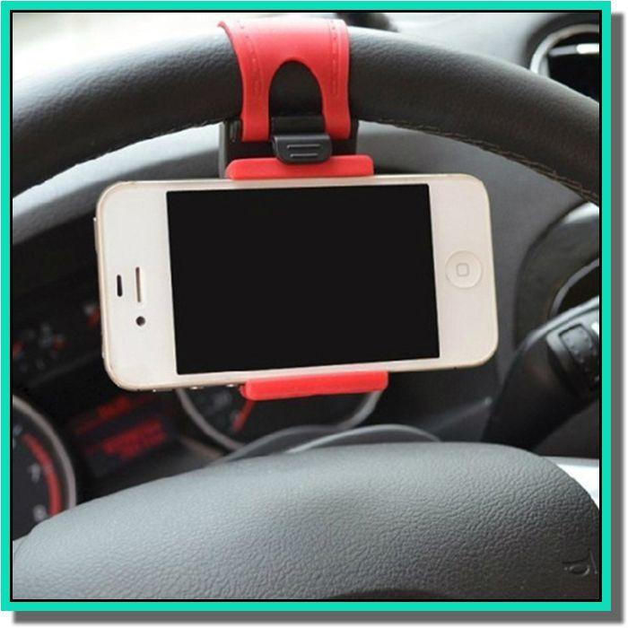Универсальный автомобиль Streeling руль Держатель колыбели смарт-клип автомобильный велосипед крепление для смарт - мобильного телефона samsung сотовый телефон GPS держатель с розничной торговли