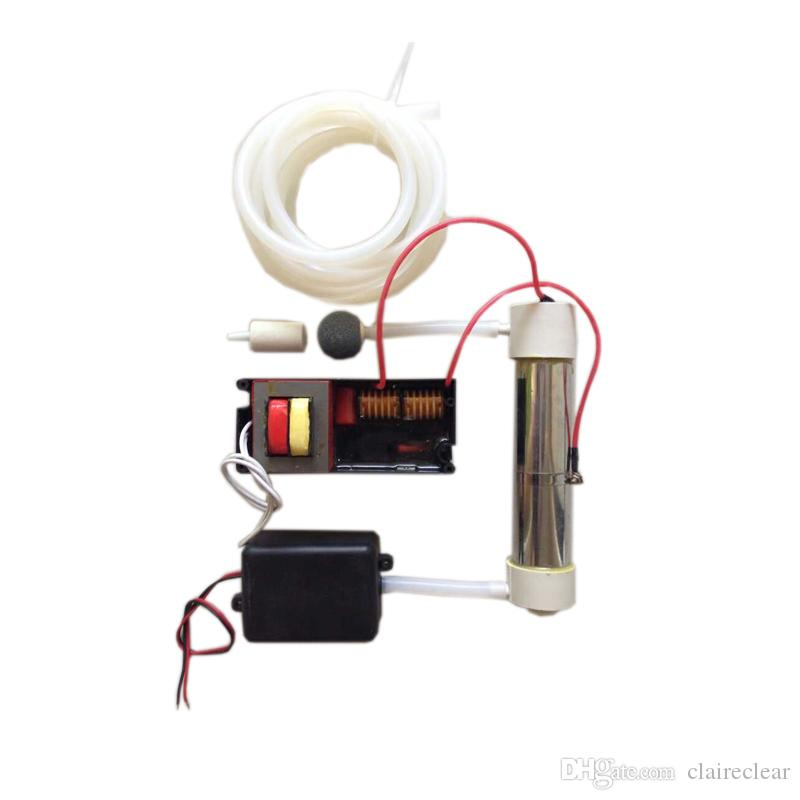 220V/110V Silica Tube Ozone Generator 2g/h For Air and Water Purification 1 set starts Accessary Optional + Free Shipping