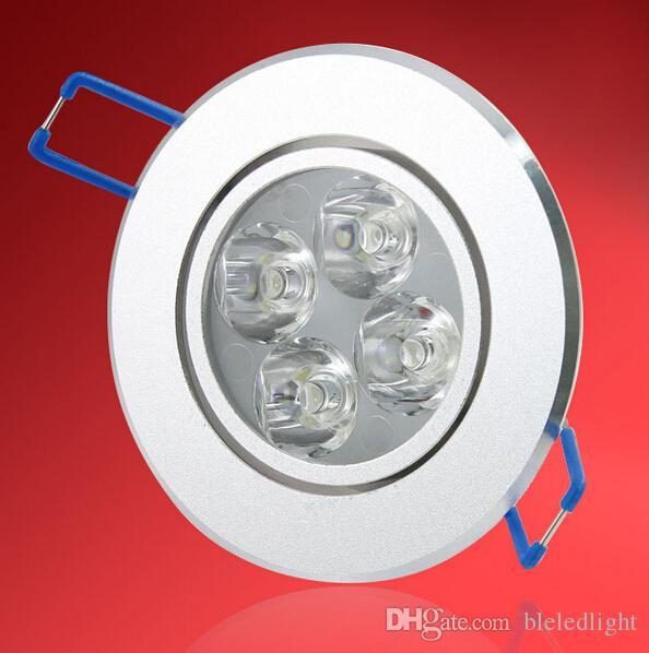 Hochleistungs-LED-Deckenleuchte 9W 12W LED-Lampe 110-240V LED-Spot-Down-Beleuchtung LED-Licht Downlight-Scheinwerfer mit LED-Treiber