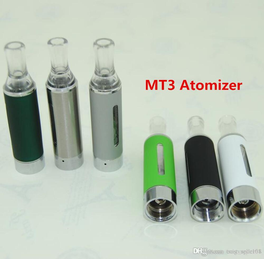 Electronic cigarette eGo Bottom Coil Changeable MT3 Vaporizer Cartomizer MT3 Clearomizer Atomizer tank vape fit ecig ego evod vision battery