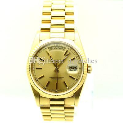 뜨거운 판매 남자 기계식 스테인리스 시계 고품질 망 자동 손목 시계 099 시계