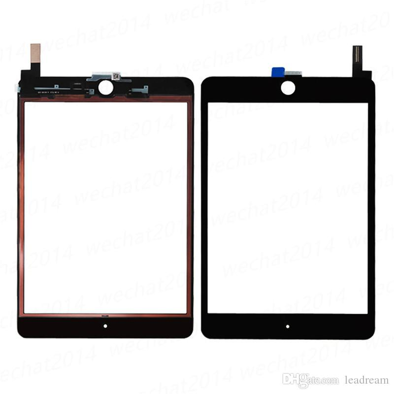 30PCS 100% New Touch Screen Glass Panel with Digitizer Replacement for iPad Mini 4 Black and White free DHL