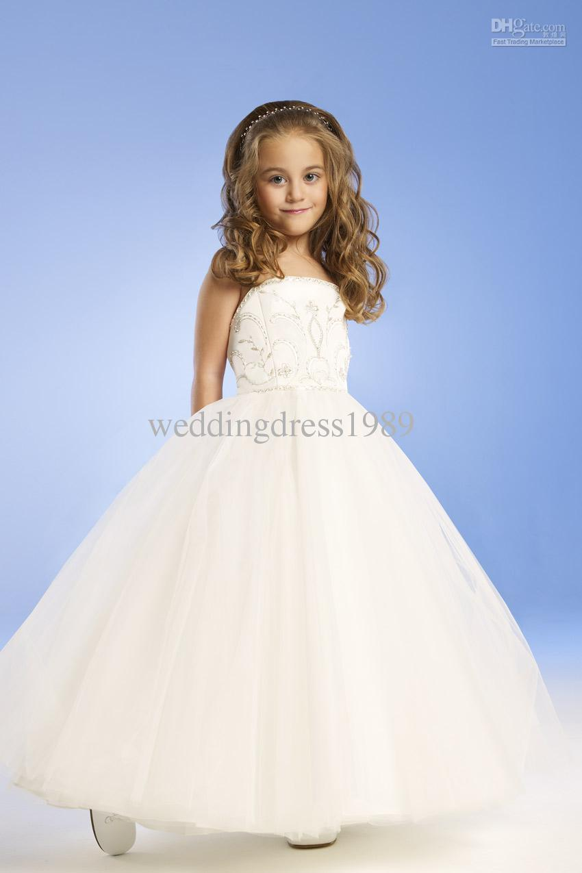 Years Old 2015 Flower Girl Dresses With A