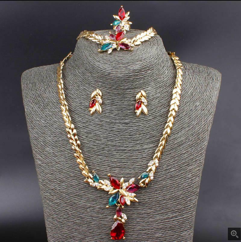 Women Fashion 18K cristal plaqué or rose bracelet bangle tendance Bijoux Cadeau