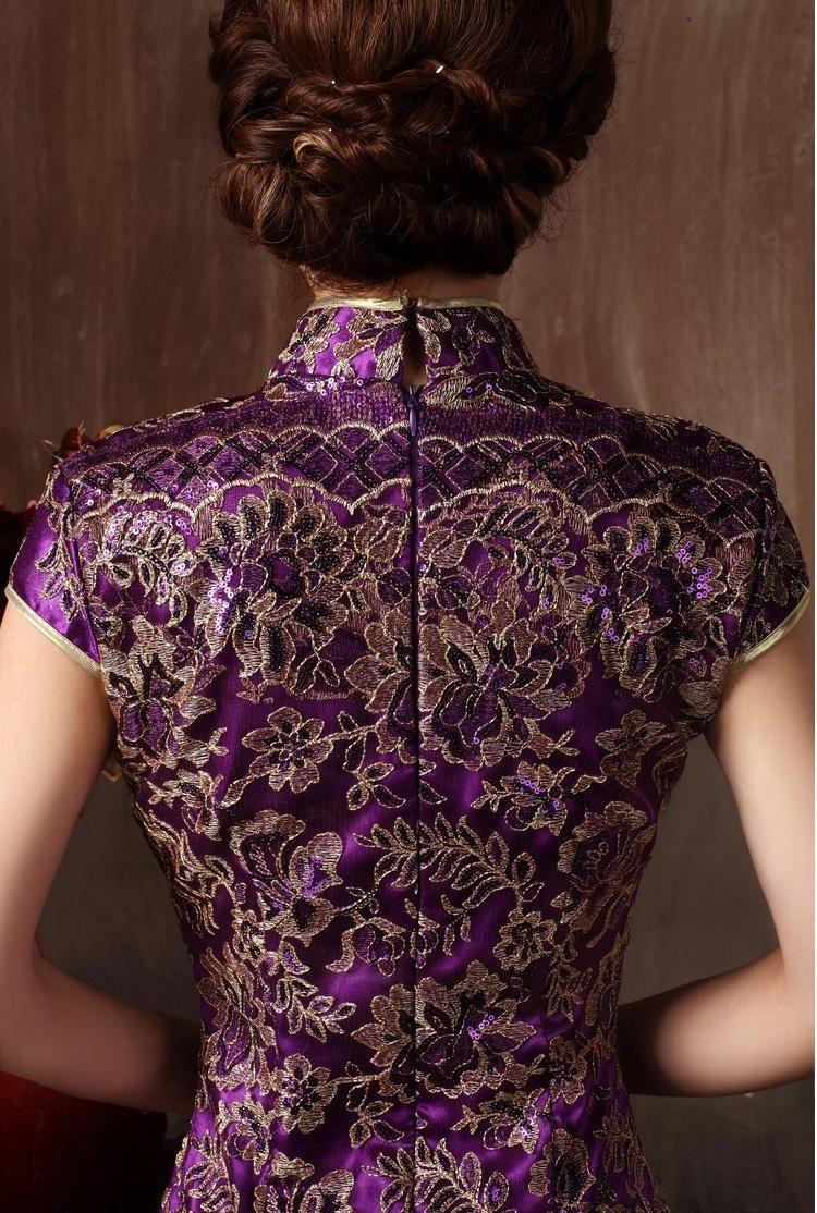Großhandel Heißer Verkauf Elegante Kleid Für Frauen Slim Chinesische ...