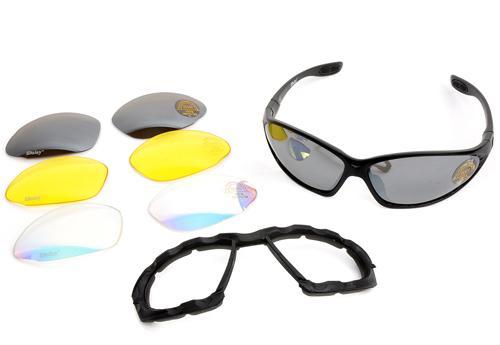 Óculos protetores multi cores com boa qualidade CL8-0014