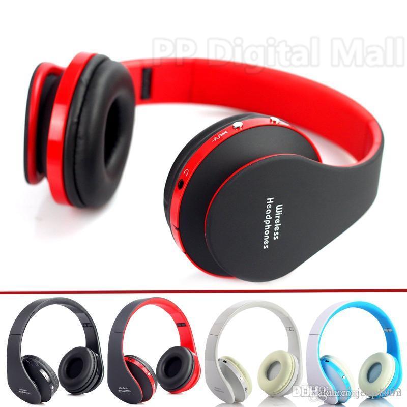 iPhone Laptop Cep telefonları samsung Huawei Katlanabilir 3,5 mm Kablosuz Stereo Bluetooth Kulaklık Kafa Kulaklık USB