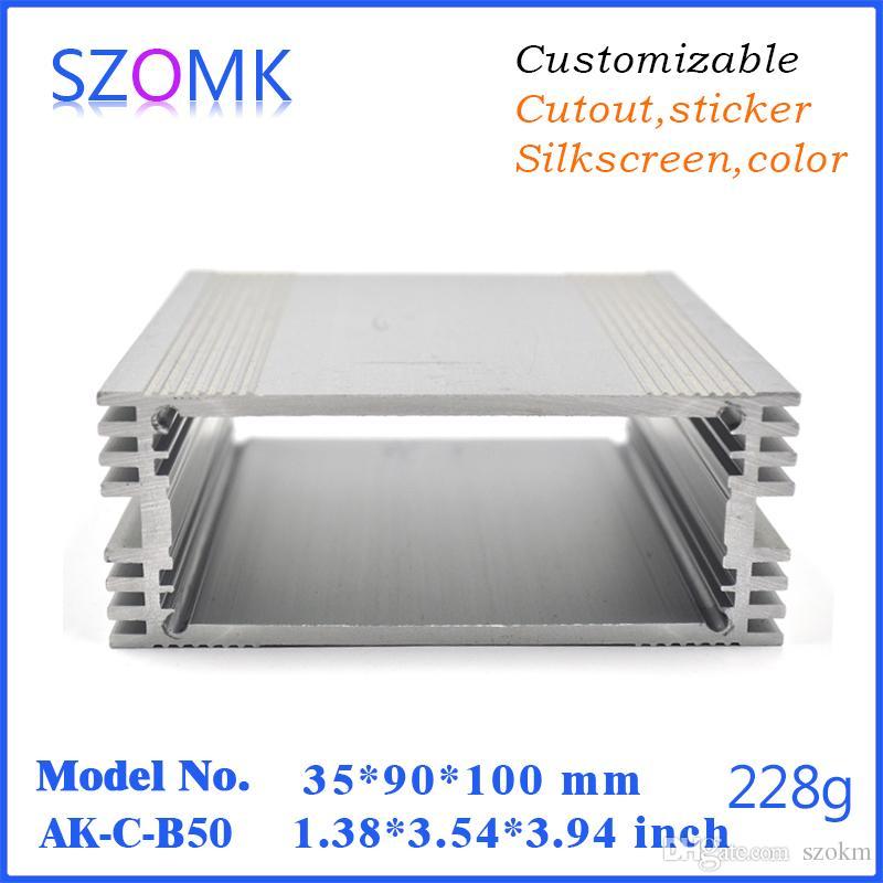 1 pcs, aluminum extrusion manufacturer aluminum case electronics 35 ...