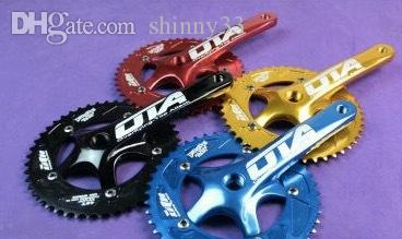 Wholesale-OTA AL7075 48T single speed fixed gear fixie bike crankset cycling Road track bicycle crank set chain wheel