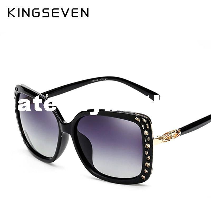 Original Óculos De Sol Das Mulheres Polarizada Elegante Borboleta Design Para Senhoras Óculos De Sol Feminino Oculos De Sol KINGSEVEN Shades 7543