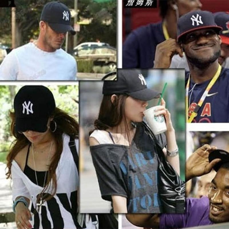 color hip hop baseball caps hats unisex sports new york adjustable bone men casual yankee wholesale ny yankees cap sale