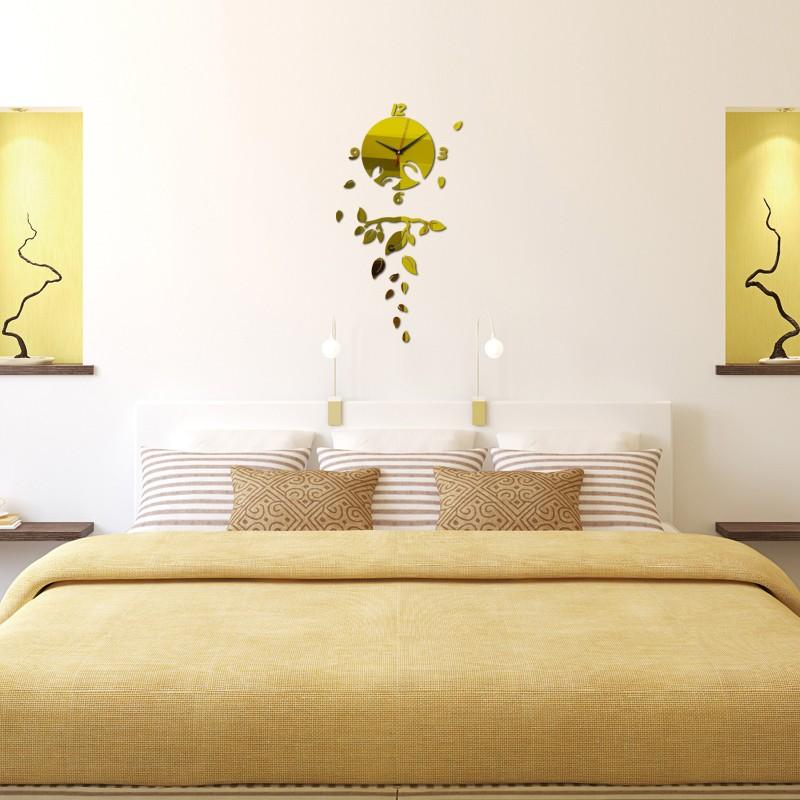 Großhandel 2016 Decoration Maison Diy Quarzuhr Uhren Mehrteiliges Set Nadel  Wohnzimmer Moderne Sonne Dekorative 3d Diy Spiegel Wanduhr Von ...