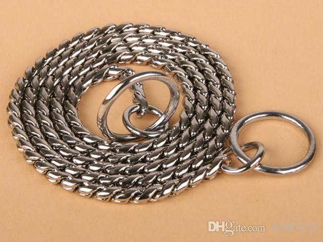 10PCS / LOT meraviglioso 70cm * 5mm Collari per cani Snake Collari Forniture per cani Forniture per animali speciali per cani di grossa taglia spedizione gratuita