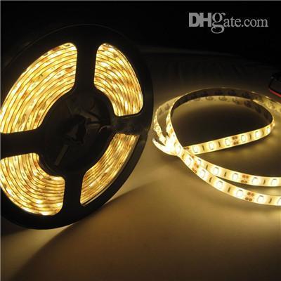 5630SMD LED Strip Light Waterproof 300LEDs 5M/roll 16.4 FT Rope Lighting Warm White/Cool White/Red/Blue/Green Flexible Strip Lighting 12V