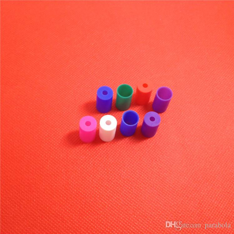 Пластиковая пробирка для капельного наконечника Одноразовые наконечники Крышка распылителя Крышка распылителя для эго CE4 CE5 CE6 Clearomizer E Cig Электронная сигарета