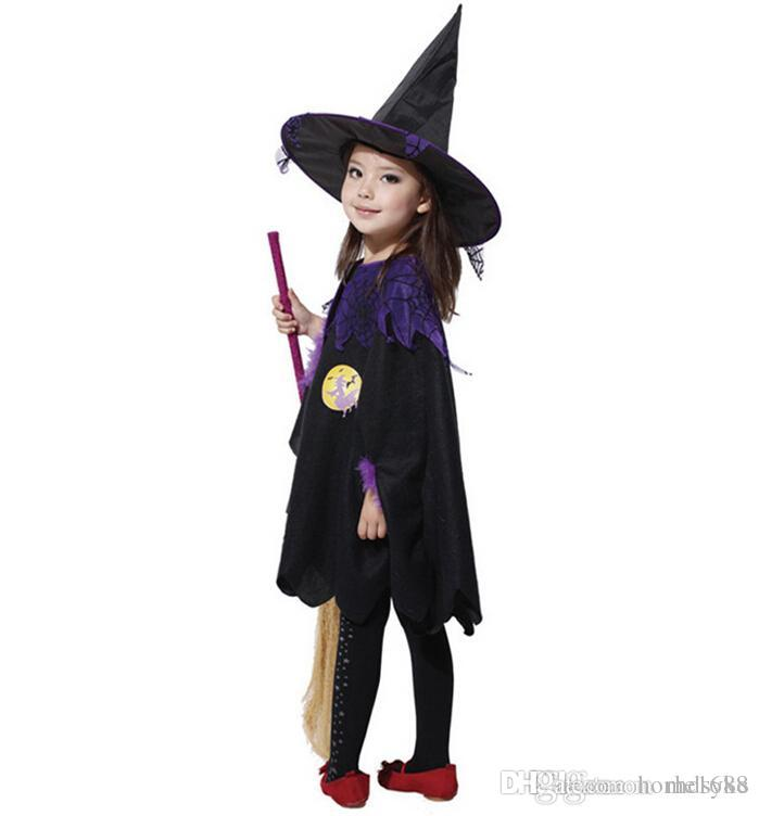 2020 Halloween Costumes Children S Halloween Costumes Cute Witch Clothes 3 Size A Girls Halloween Costumes From Home1688 20 84 Dhgate Com