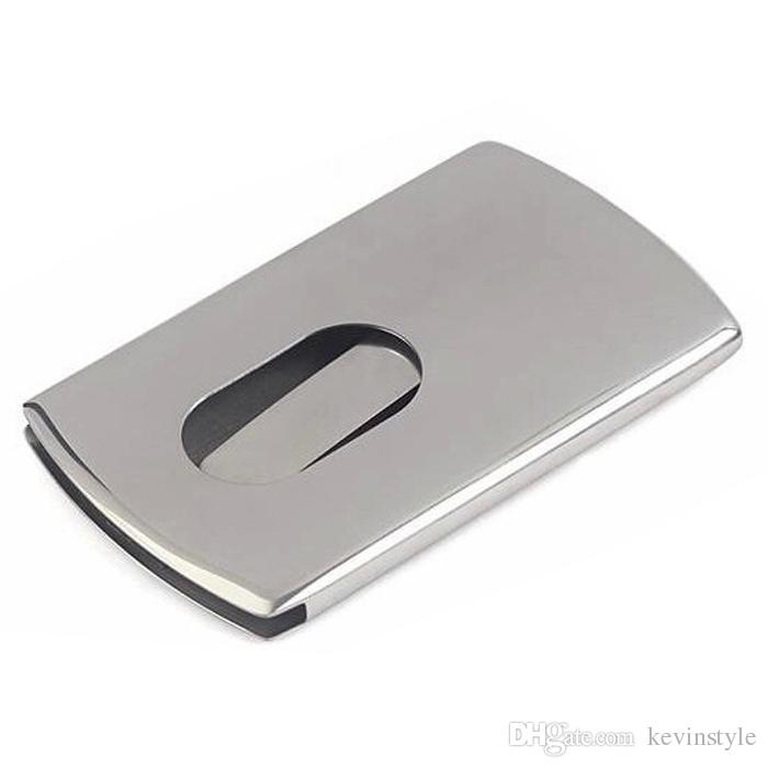 Hot Sales Stainless Steel Business Card Holder Push Card Holder ...