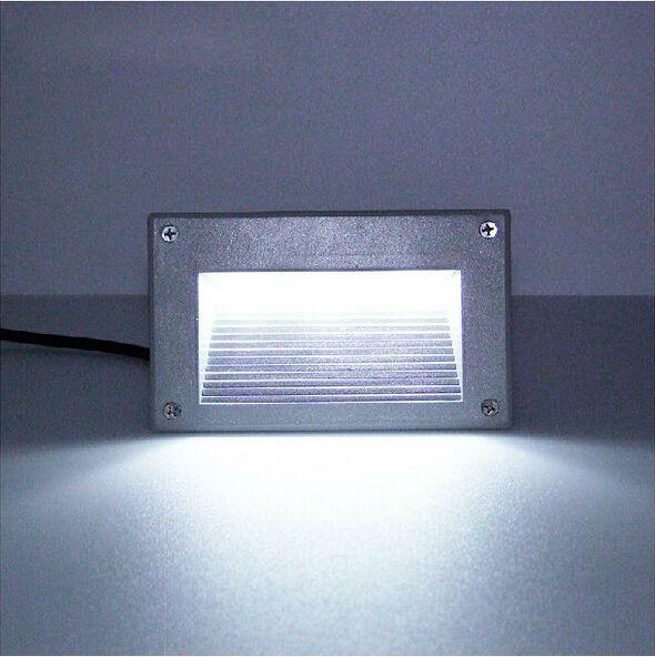 3X1W 3W 300LM AC85-265V / DC12V imprägniern IP65 warme weiße / weiße vertiefte Plattform-Untergrundlicht-Lampe des Boden-LED Freies Verschiffen